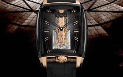 CORUM CELEBRATES 10TH ANNIVERSARY OF THE GOLDEN BRIDGE AUTOMATIC WITH PANORAMIC SAPPHIRE CASE DESIGN